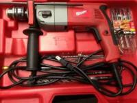 Need room must sell ... Milwaukee Hammer Drill - 8 Amp,