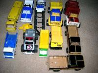 I AM SELLING MY TONKA COLLECTION.  ALL PRESSED STEEL