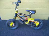 "Tonka Boys 12"" Bike in great condition Dual Suspension"