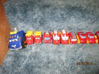 Tonka, playskool and fisher price vehicles..75 each for