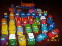 We have 28 big cars/trucks that are the Tonka Chuck and