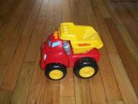 I am selling a tonka dump truck. It will talk to you