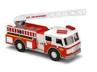 I have a TONKA lights and sounds fire truck in very