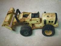 i have a tonka loader tractor for $10 or best offer.