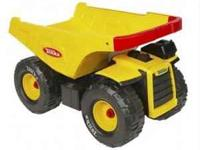 Tonka Mighty Dump Truck. Was never played outside. Good