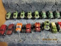Tonka military vehicles. .50 each