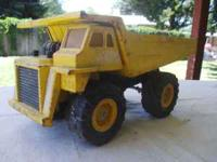 For sale is this replica metal dumptruck (not-a Tonka)