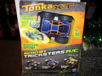 Tonka XT Ricochet Tricksters R/C  2-sided freestyle