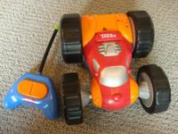 Tonka Bounce Back R/C Racer. 2-in-1 push-button control
