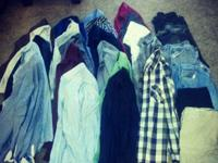 TONS and TONS of men's garments. I have 6 huge bags of