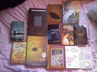 I have 12 books.....i will sale them for a $1 each or