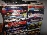 I AM SELLING TONS OF GENLTY USED DVD'S OF ALL GENRE.