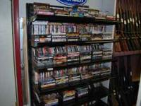 AWESOME DVD SELECTION, RANGING FROM ANYTHING TO