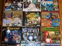 TONS OF HIDDEN OBJECTS GAMES FOR THE PC EXCELLENT
