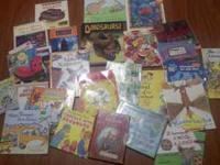 Im selling a large lot of kids books for only $15.
