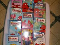 Clifford VHS motion pictures for sale. BUNCH OF 11 -