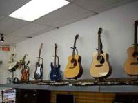 for sale is a wide variety of musical instruments and