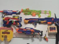 I'm wanting to sell my whole nerf collection. I have:.