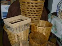 Lots of New or Like New, Baskets, all shapes and Sizes,