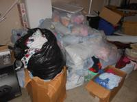 I have well over 1300 pcs of baby clothes ages 3 months