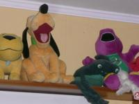 Here are some shots of the stuffed animals my kids have