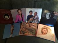 We have TONS of vinyl records for sale. Below is a list