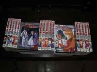 Very large collection of manga for sale. They're all in
