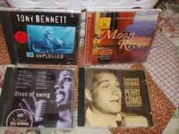 4 CD'S TONY BENNETT/UNPLUGGED CD ENCHANTED EVENING WITH