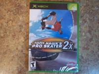 Tony Hawk's Pro Skater 2X for Xbox video game consoles