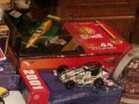 I have a lot of Tony Stewart diecast cars that im
