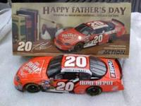 Tony stewart #20 Home depot/ Happy father's day. 2004