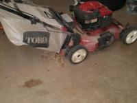 I have a Toro lawnmower that is in good condition. If