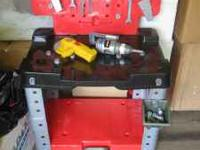 Childs Tool bench w/tools $30.00 If interested please