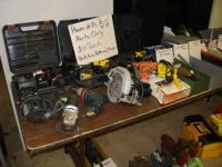 All Tools Now 25% Off!!! Tool Liquidation. Power tools,