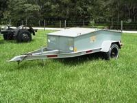 Tool trailer, ball hitch, 2 removable lids, all steel