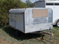 Enclosed Utility / Tool Trailer For Sale. Waterproof,