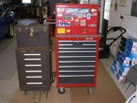 12 drawer Craftsman roller cabinet with a 11 drawer