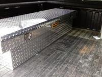 Truck tool box silver Pro Maxx fits full size truck.