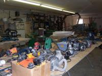 We have numerous pieces of Woodworking and Mechanical