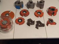 17 Industrial shaper/cutters including a brand new