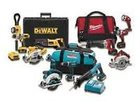 have lots of tools new and used Drills Recoprocating