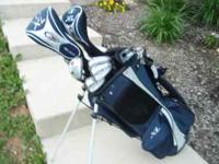 for sale top flight golf clubs like new set , great