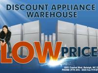 DISCOUNT APPLIANCE WAREHOUSE   HOME OF THE $99 WASHER