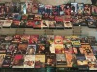 I am selling lot of 78 VHS movie top names of there day