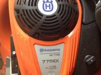 HU 775H Husqvarna self-propelled Lawn Mower. Has auto