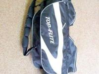 TOP FLITE LIGHT CART GOLF BAG Like New! This