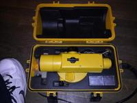 Topcon AT-F2 Engineers Grade Auto-Level, extended