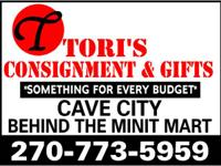 *****TORI'S***TORI'S***TORI'S****FIND US ON FACEBOOK!!