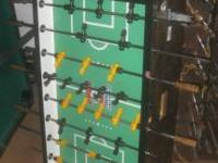 Tornado Foosball Table coin operated All men are in