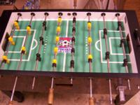 Tornado Coin Operated Foosball Table - Commercial